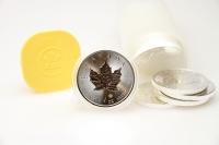 100x 1 oz Maple Leaf Silber 2020 KANADA
