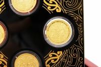 Set Die 4 Winde Gold Polierte Plattte 2020 NEUSEELAND