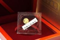 1g Goldpanda in der ORIGINALFOLIE inkl. Zettel 2018 CHINA