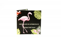 1 oz Flamingo Gold 2020 BARBADOS