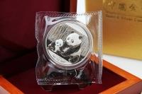 1 oz Panda Silber in der Folie 2012