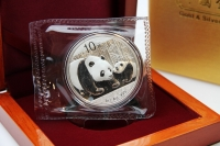 1 oz Panda 2011 in FOLIE inkl. BOX