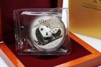 1 oz Panda Silber in der Folie 2011