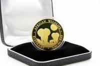 1 oz Elefant Gold 2014 SOMALIA