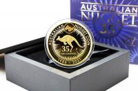 2 oz 35. Jahre Känguru Gold PP 2021 AUSTRALIEN