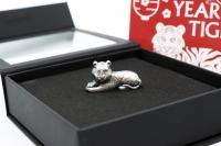 1 oz Jahr des Tigers Silber 2022 MONGOLEI
