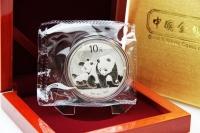 1 oz Panda 2010 in FOLIE inkl. BOX