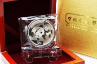 1 oz Panda 2008 in FOLIE inkl. BOX