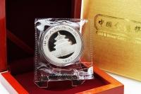 1 oz Panda 2008 in FOLIE inkl. BOX