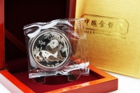 1 oz Panda 2007 in FOLIE inkl. BOX