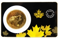 1 oz Call of the Wild Hollowing Wolf Gold 2014 KANADA