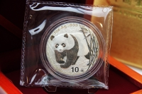 1 oz Panda 2001 in der ORIGINALFOLIE inkl. BOX