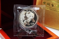 1 oz Panda Silber in der Folie 2004
