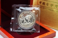 1 oz Panda 1990  in der ORIGINALFOLIE inkl. BOX