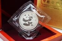 1 oz Panda Silber 2000 in der Folie mit Zettel inkl. BOX