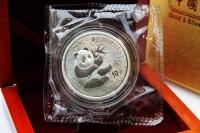 1 oz Panda MIRROR 2000 in der Folie mit Zettel inkl. BOX ca. 10 Tage