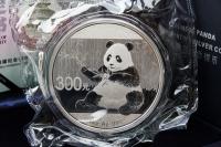 1 Kg Panda 2017 mit Zettel in der FOLIE inkl. BOX ca. 10 Tage