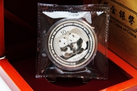 1 oz Panda Jubiläum 2009 in FOLIE inkl. BOX