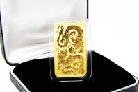 1 oz Drachen Münzbarren Gold 2020 AUSTRALIEN