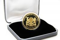 1 oz Mandala Flußpferd Gold 2020 TSCHAD