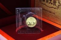 1/10 oz Goldpanda in der Original-Folie 2013 CHINA