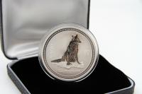 1 oz Lunar I Hund Silber 2006 AUSTRALIEN