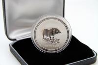1 oz Lunar I Schwein Silber 2007 AUSTRALIEN