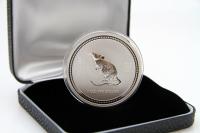 1 oz Lunar I Maus Silber 2008 AUSTRALIEN