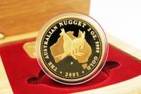 2 oz Känguru Gold PP 2001 AUSTRALIEN