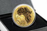 1 oz Okapi Gold 2021 RUANDA