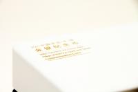 10g Gold und 30g Silber Ochse Bogen Fan-Shaped Polierte Platte 2021