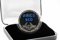 3 Rubel SCO und BRICS Gipfel 2020 Silber PP 2020