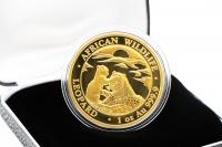 1 oz Leopard Gold 2019 SOMALIA