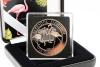 1 oz Flamingo PLATIN 2020 BARBADOS