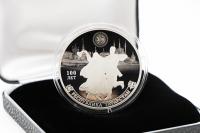 1 oz - 3 Rubel 100. Jahrestag der Republik Tatarstan Silber PP 2020