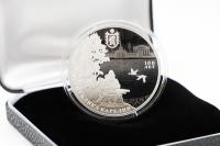1 oz - 3 Rubel Region Karelia Silber PP 2020