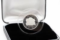 1/4 oz - 1 Rubel 175. Jahre russische geografische Gesellschaft Silber PP 2020